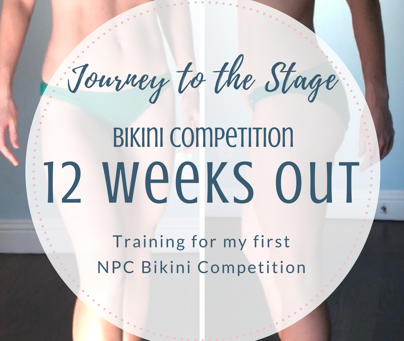 Journey to the Stage: 12 Weeks Out