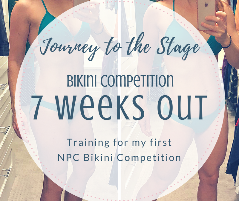 Journey to the Stage: 7 Weeks Out