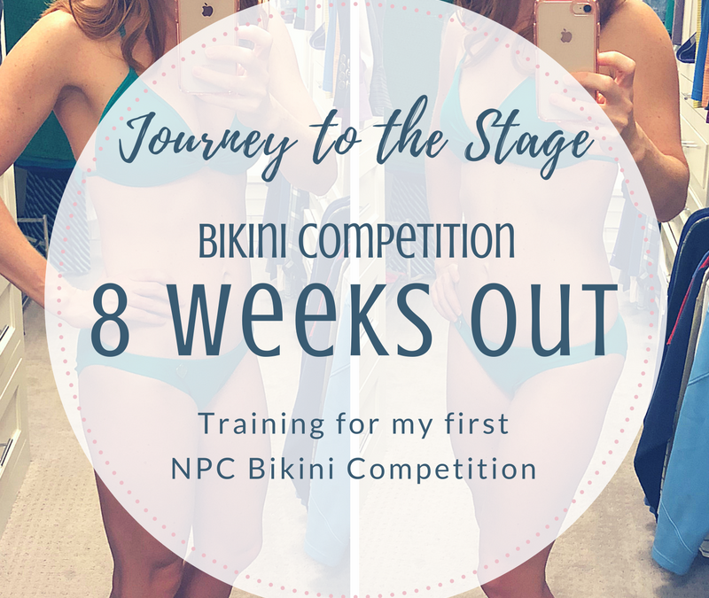 Journey to the Stage: 8 Weeks Out