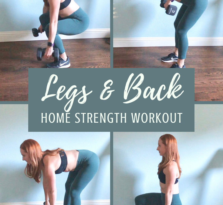 Lean Legs and Strong Back Workout